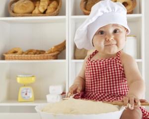 Απολυμανσεις Αργυρουπολη - μωρό με φαγητό
